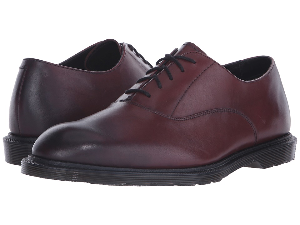 Dr. Martens - Fawkes Oxford Shoe (Cherry Red Temperley) Men's Lace up casual Shoes