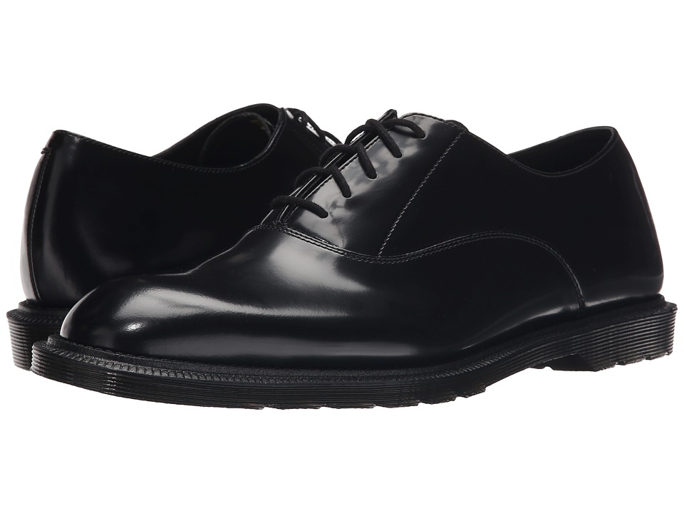 Dr. Martens - Fawkes Oxford Shoe (Black Temperley) Men's Lace up casual Shoes