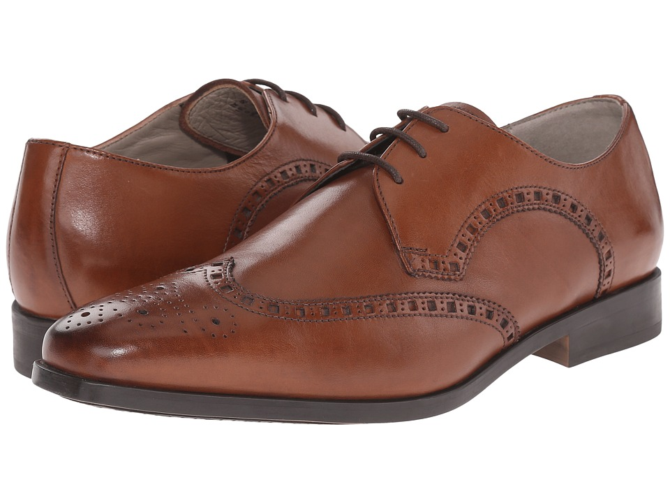 Clarks - Amieson Limit (Tan Leather) Men's Lace Up Wing Tip Shoes