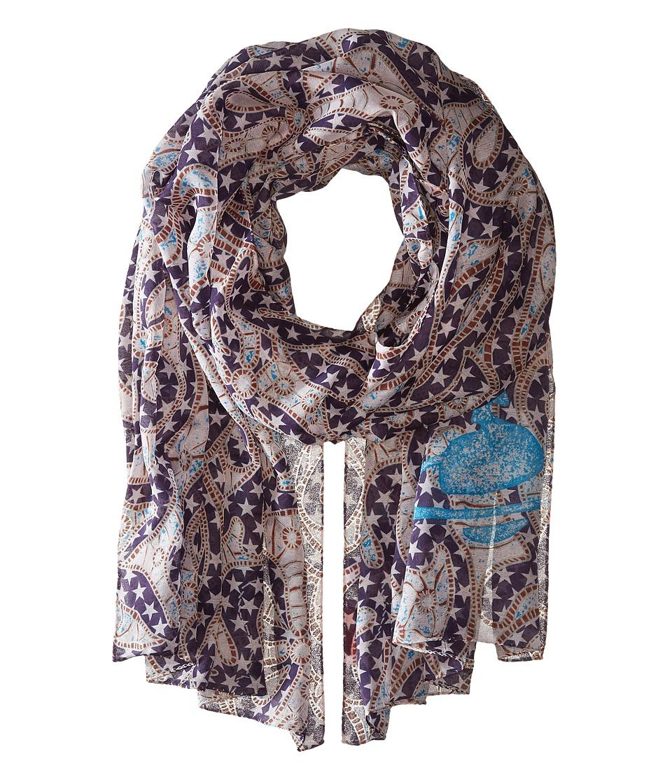 Vivienne Westwood - N548B (Violet) Scarves