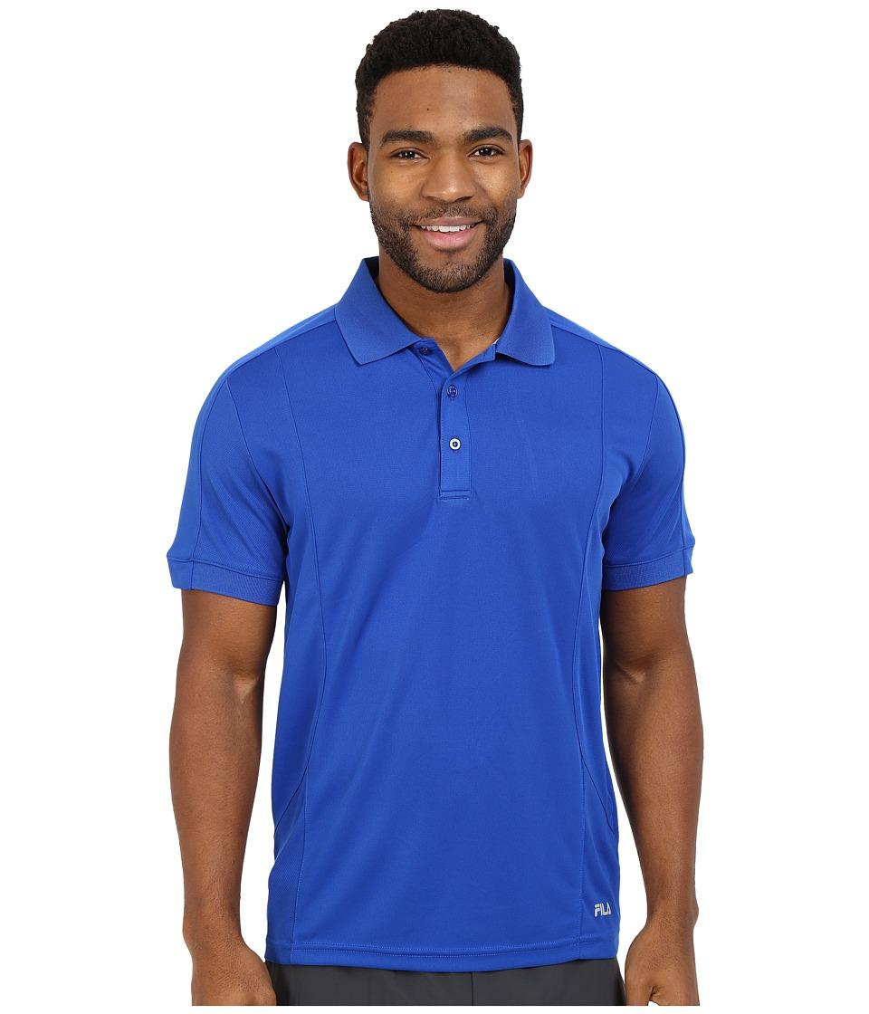 Fila - Bravo Polo (Royal Blue) Men's Short Sleeve Knit