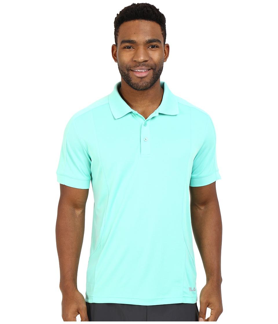 Fila - Bravo Polo (Lucite Green) Men's Short Sleeve Knit