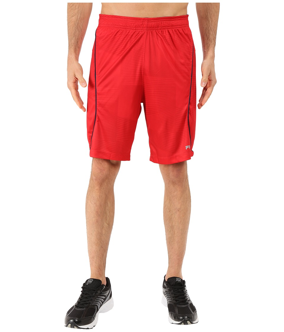 Fila - Surge Shorts (Chinese Red/Peacoat) Men's Shorts