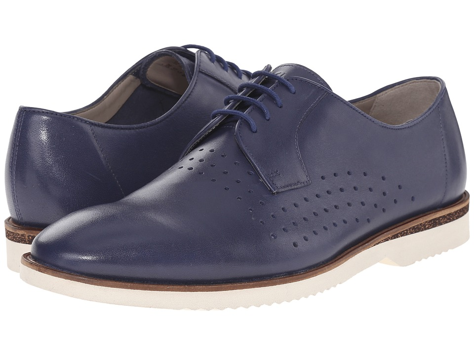 Clarks - Tulik Edge (Blue Leather) Men