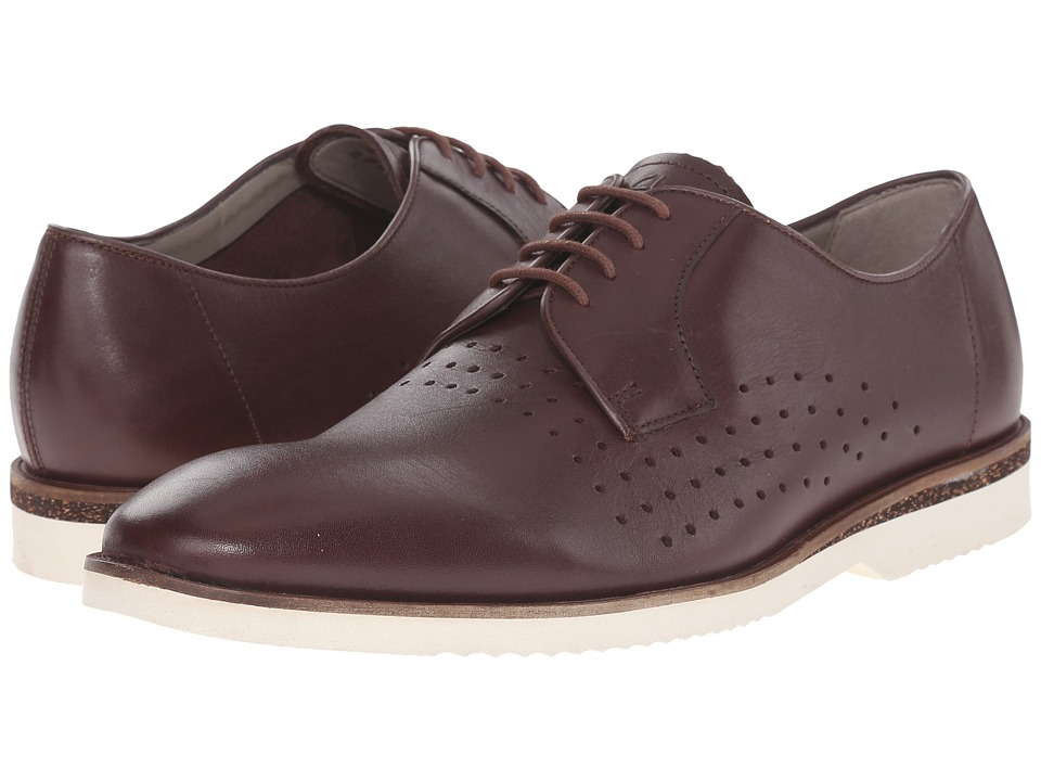 Clarks - Tulik Edge (Chestnut Leather) Men's Lace up casual Shoes