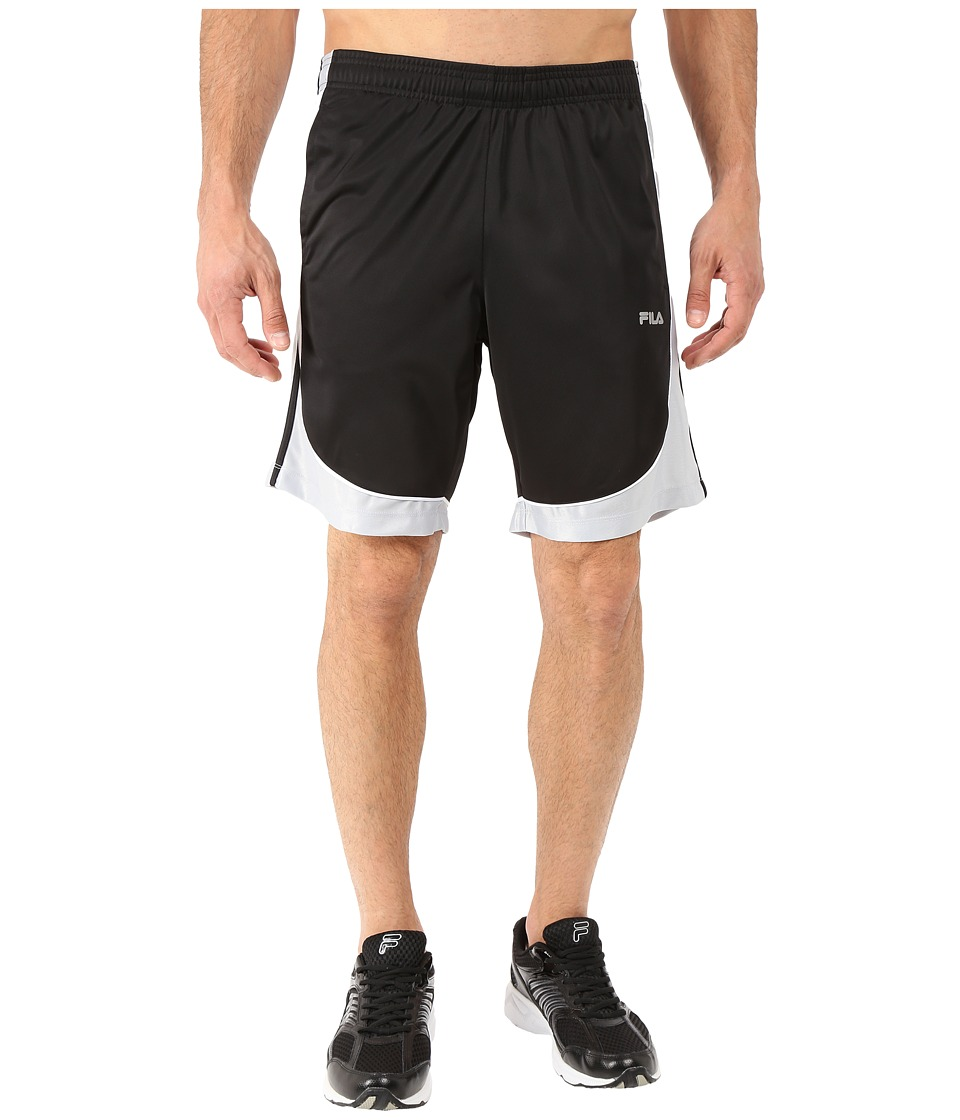 Fila - Wing Man Shorts (Black/High Rise/White) Men's Shorts
