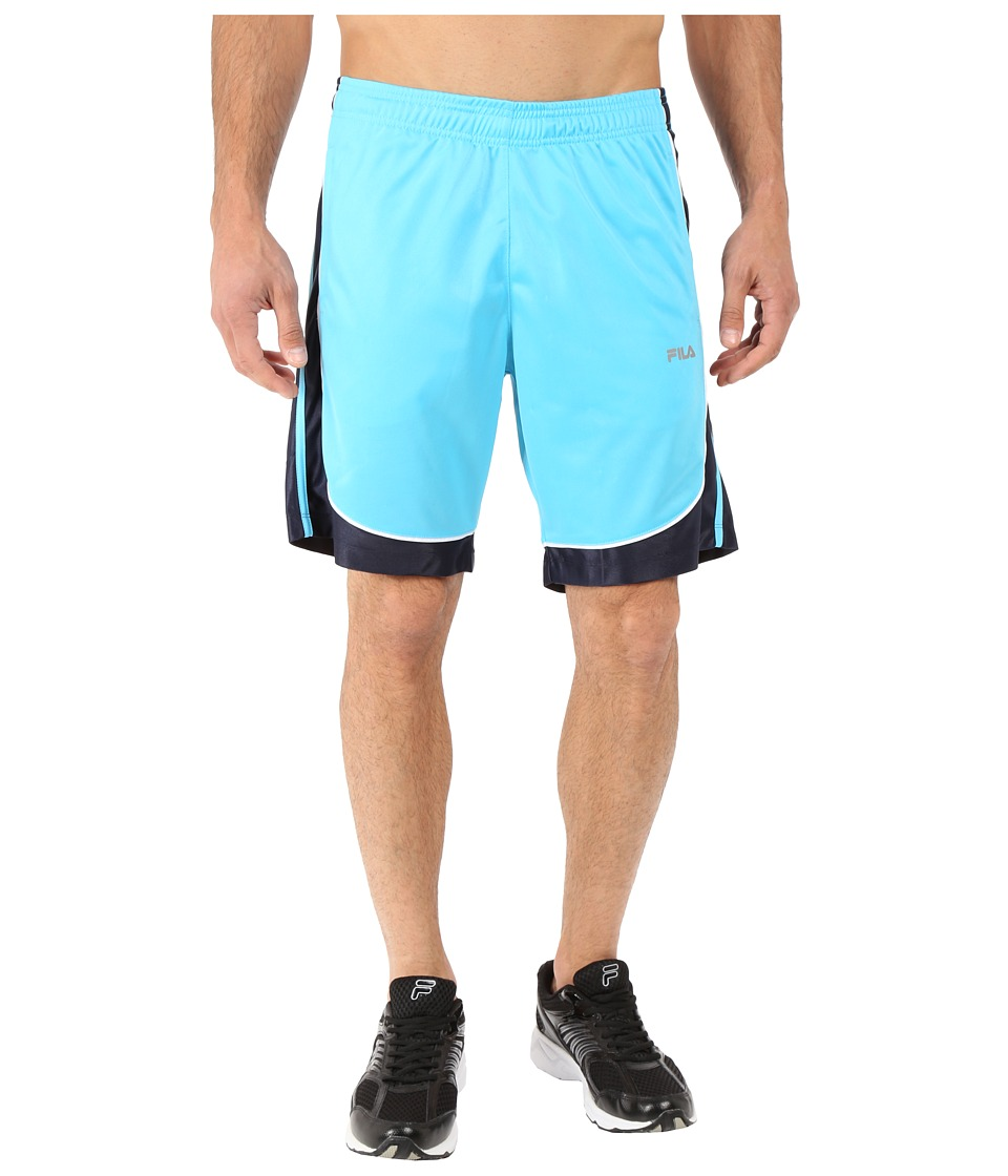 Fila - Wing Man Shorts (River Blue/Peacoat/White) Men's Shorts