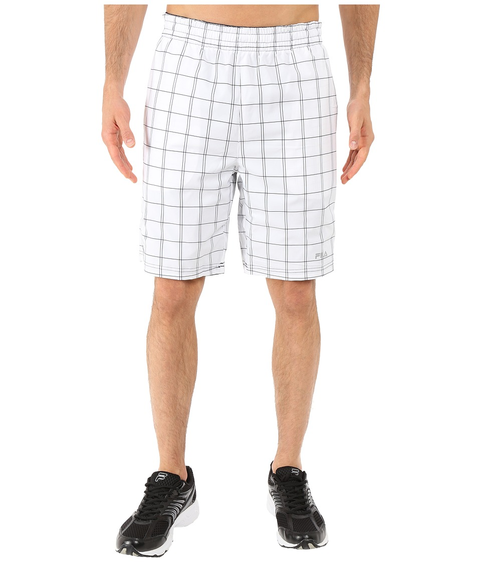 Fila - Turn On Me Reversible Shorts (White/Peacoat) Men's Shorts