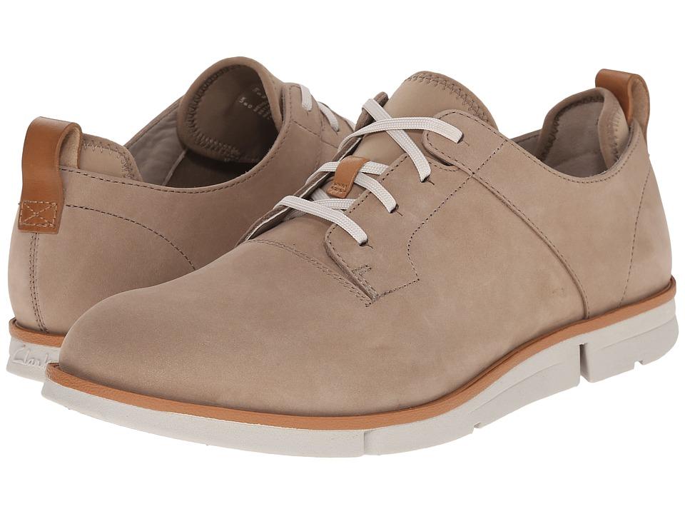 Clarks - Trigen Walk (Sand Nubuck) Men's Shoes