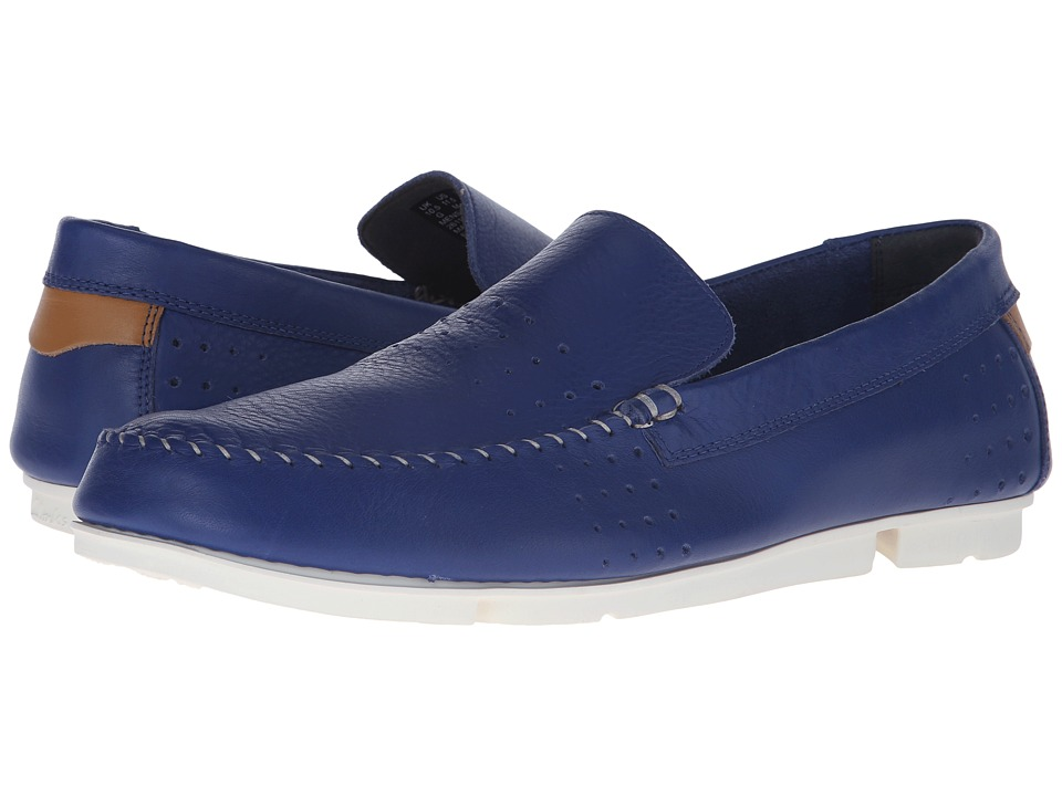 Clarks Trimocc Sun (Blue Leather) Men
