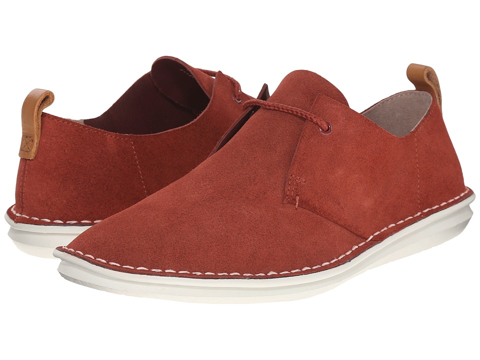 Clarks - Tamho Edge (Rust Suede) Men's Shoes