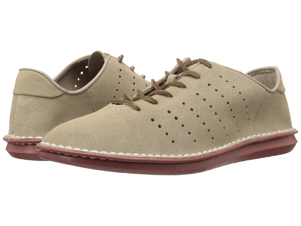 Clarks - Tamho Race (Sand Suede) Men's Lace up casual Shoes