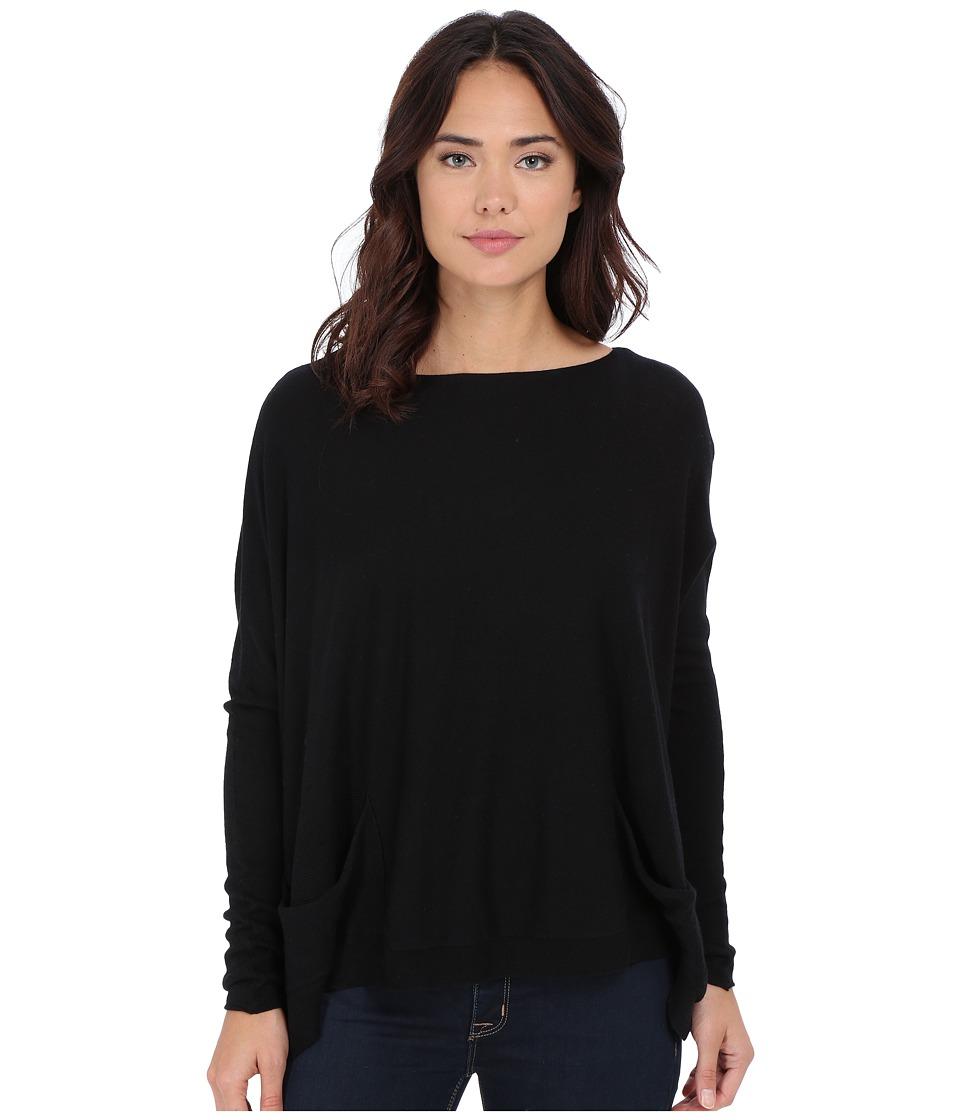 Culture Phit - Livvi Two-Pocket Sweater (Black) Women's Sweater