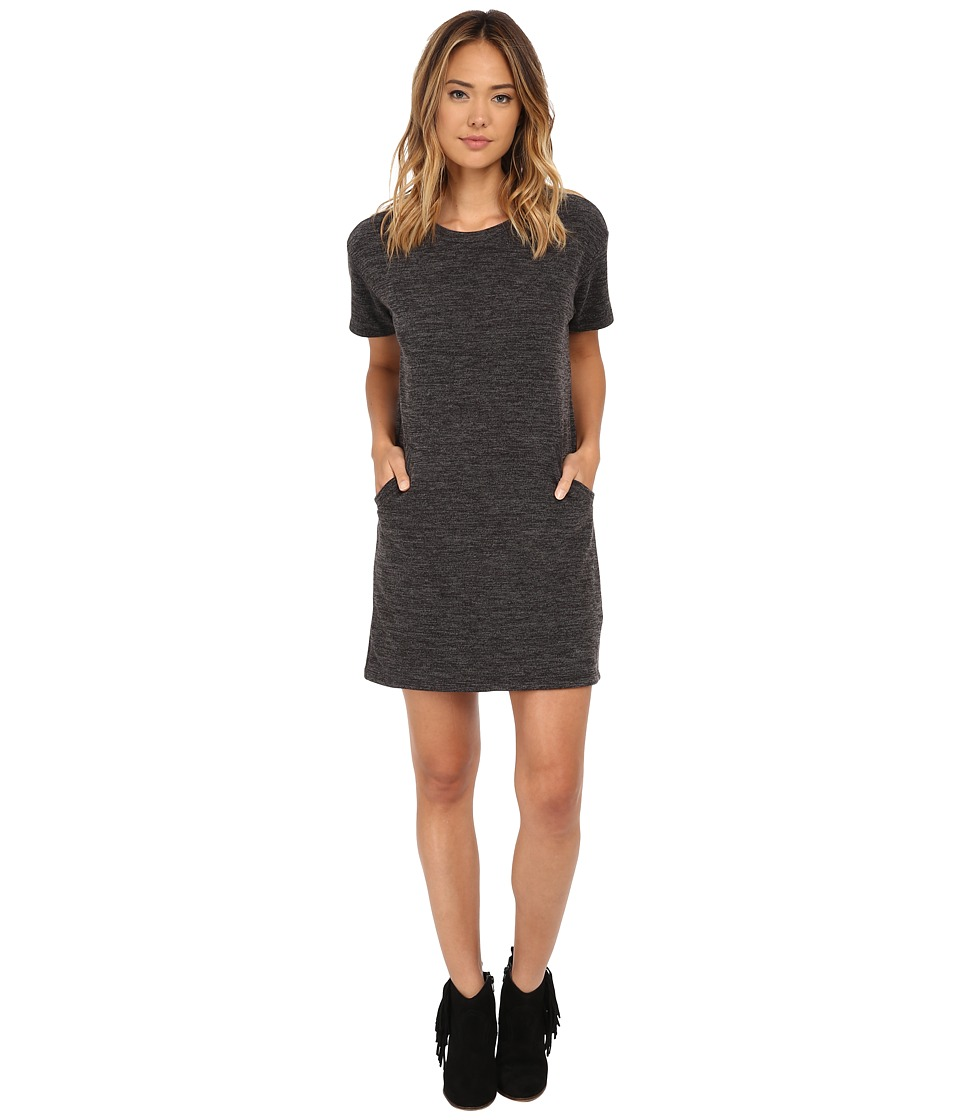 Culture Phit - Blair Pocketed Sweater Dress (Grey) Women's Dress