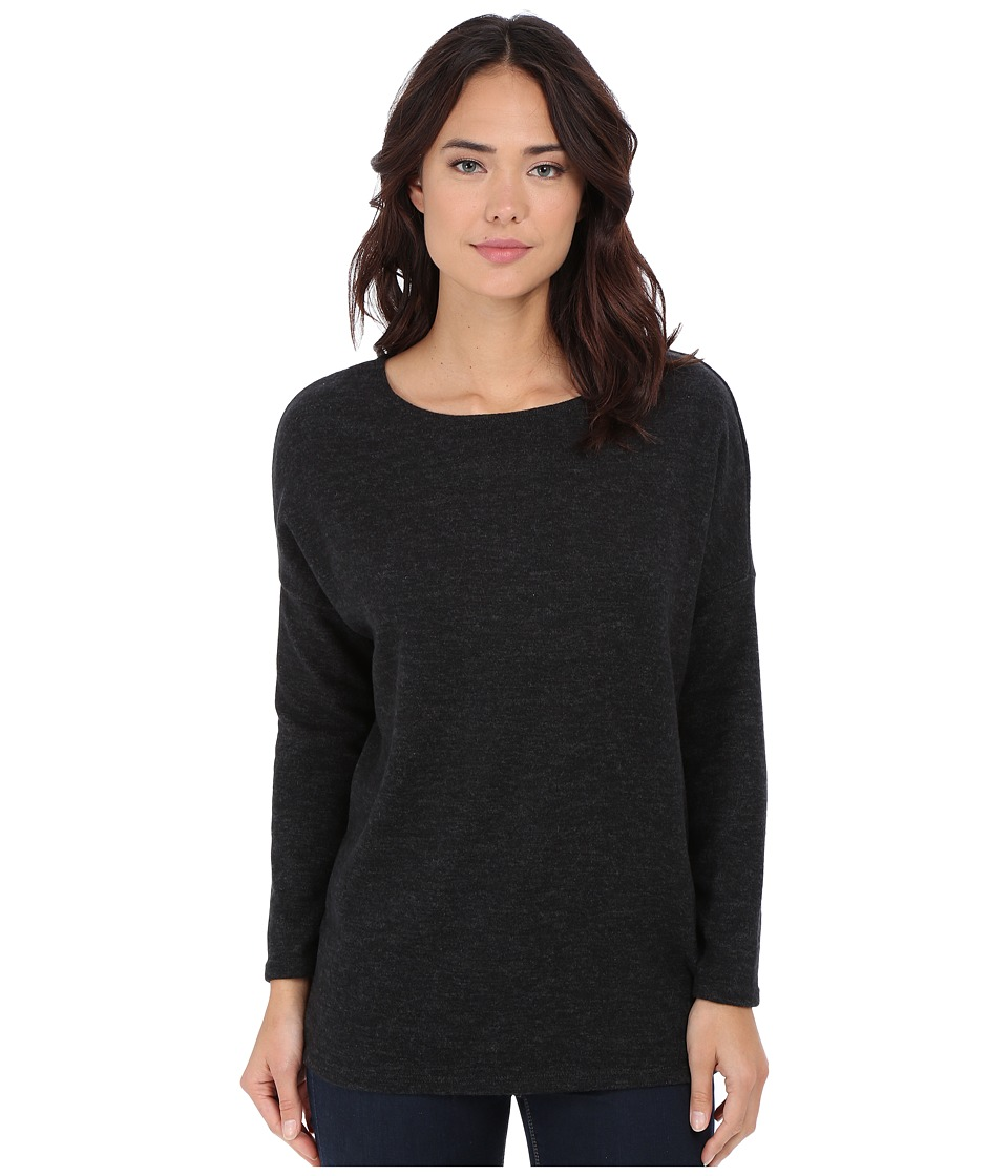 Culture Phit - Madelyn Long Sleeve Sweater (Charcoal) Women's Sweater