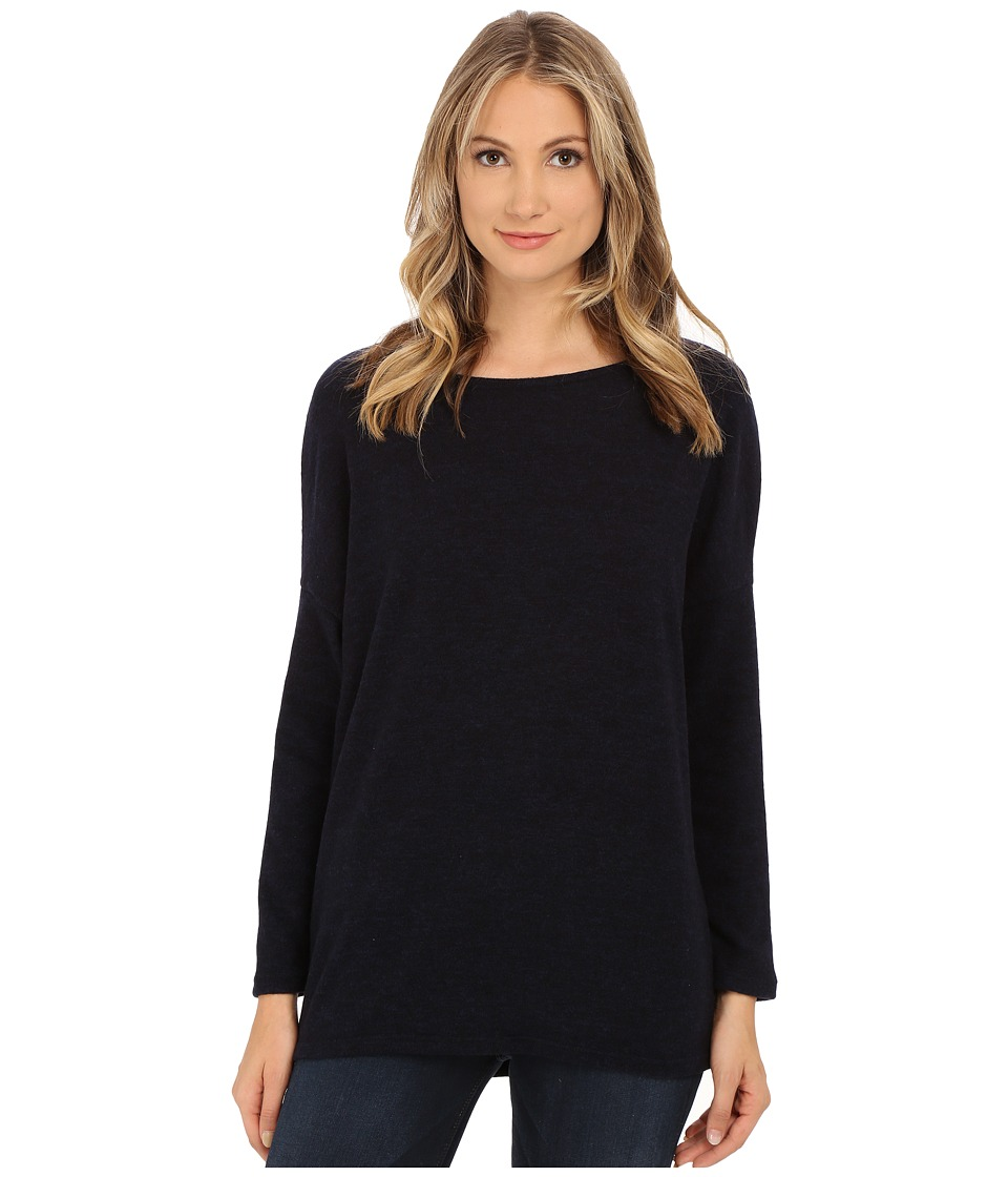 Culture Phit - Madelyn Long Sleeve Sweater (Navy) Women's Sweater