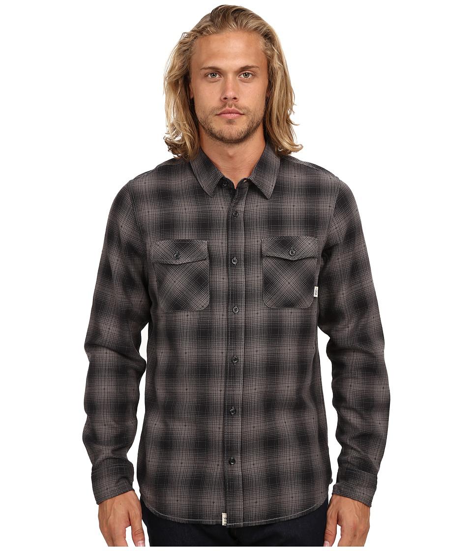 Vans - Monterey Woven (Vans Black/Graphite) Men