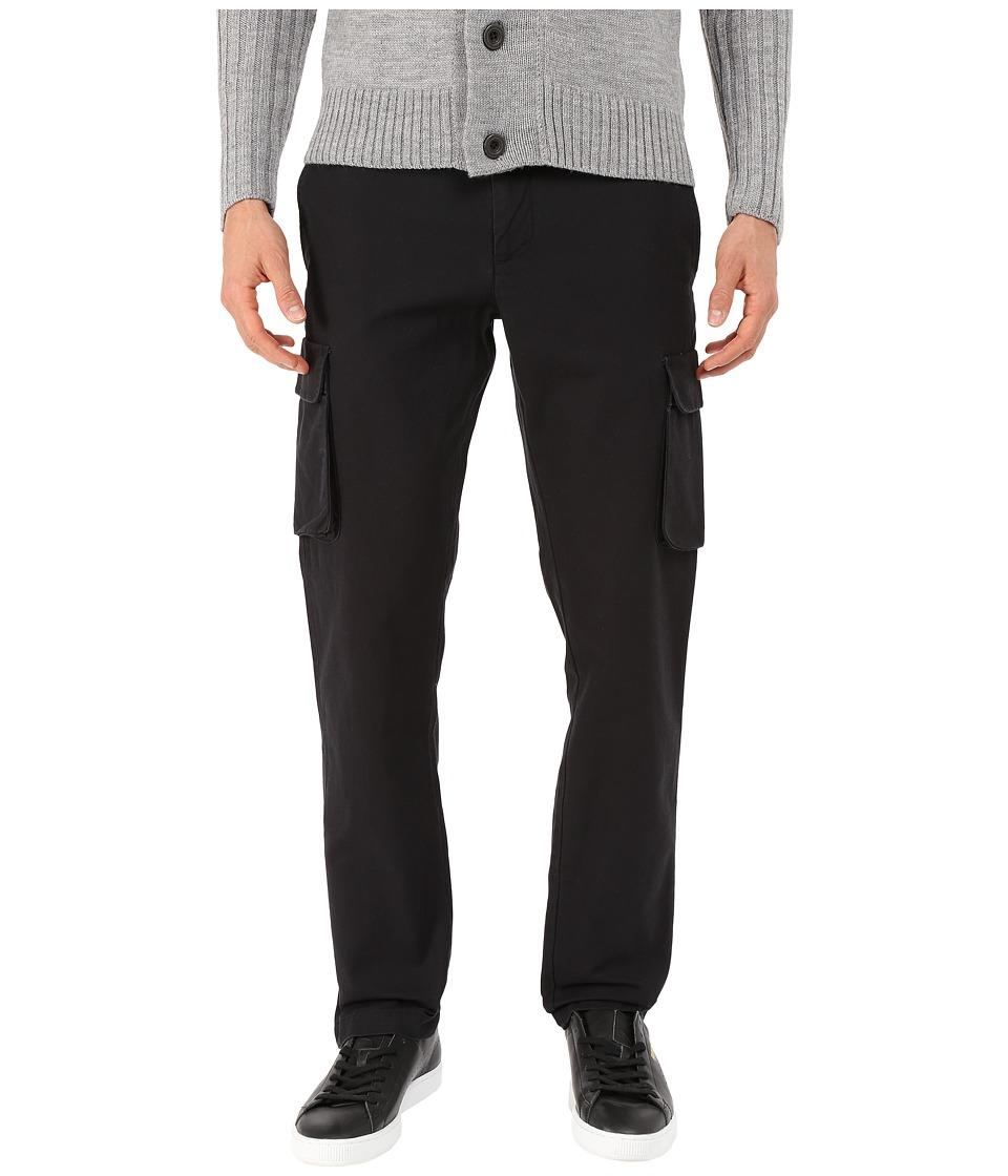 Original Penguin - Clean Cargo Broken Twill (True Black) Men's Clothing