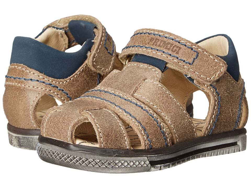 Primigi Kids - Jog 1-E Tortora (Toddler) (Beige) Boys Shoes