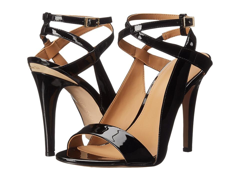 Calvin Klein - Meville (Black Patent) High Heels