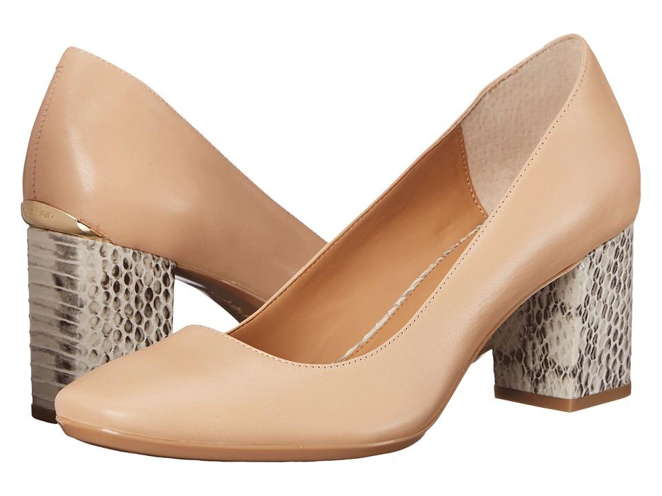 Calvin Klein - Cirilla (Sandstorm Leather) High Heels