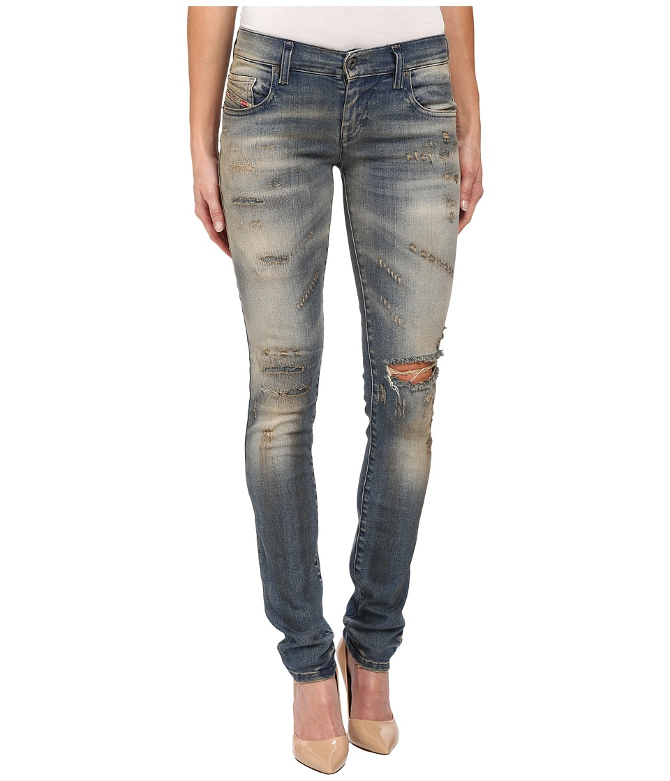 Diesel Grupee Trousers 0846K in Denim (Denim) Women