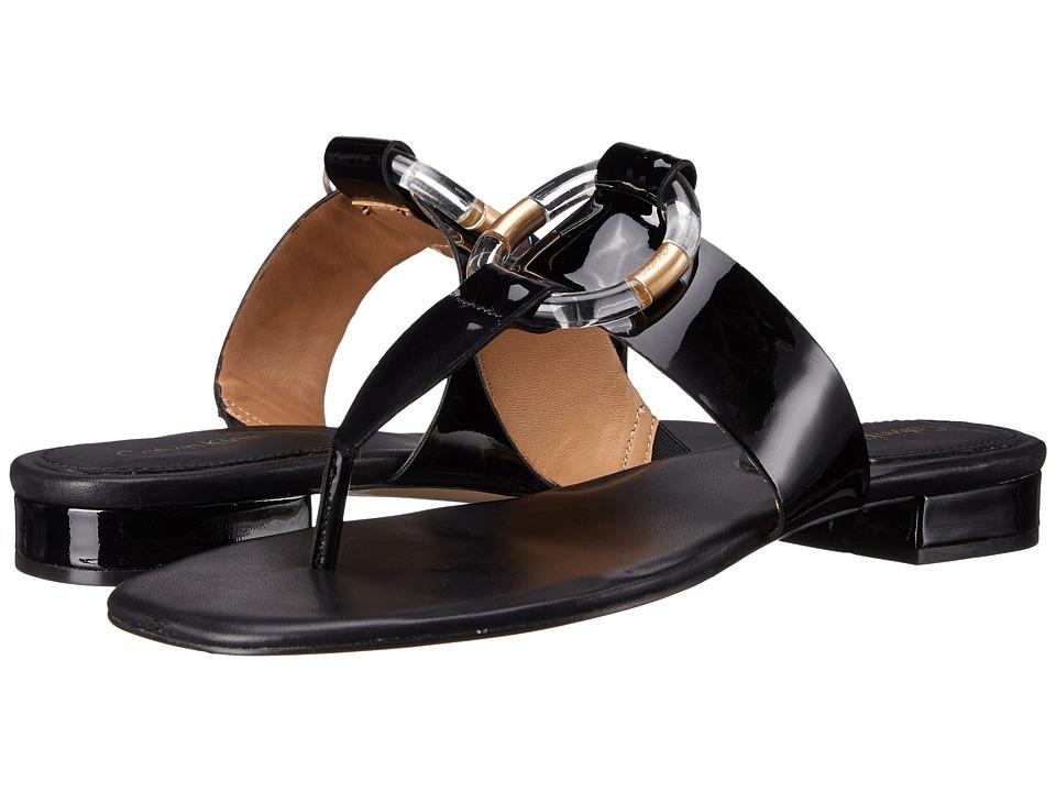 Calvin Klein Aiden (Black Patent) Women