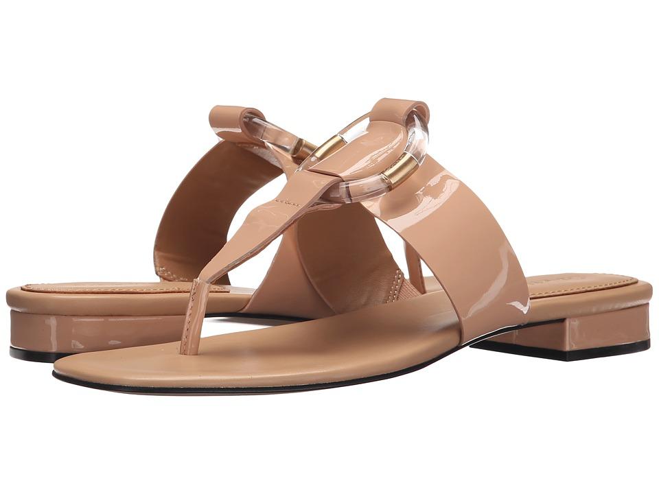 Calvin Klein - Aiden (Blush Nude Patent) Women's Sandals