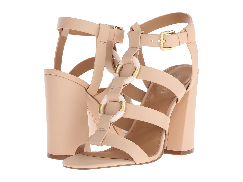 Calvin Klein - Lindy (Sandstorm Leather) High Heels