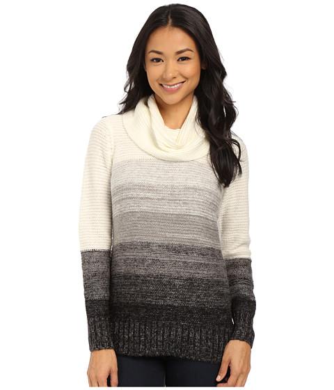 Calvin Klein - Ombre Cowl Neck Sweater (Soft White Multi) Women's Sweater