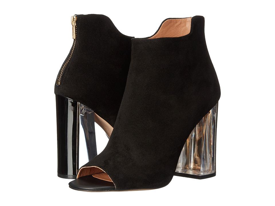 Calvin Klein - Lulah (Black Suede) High Heels