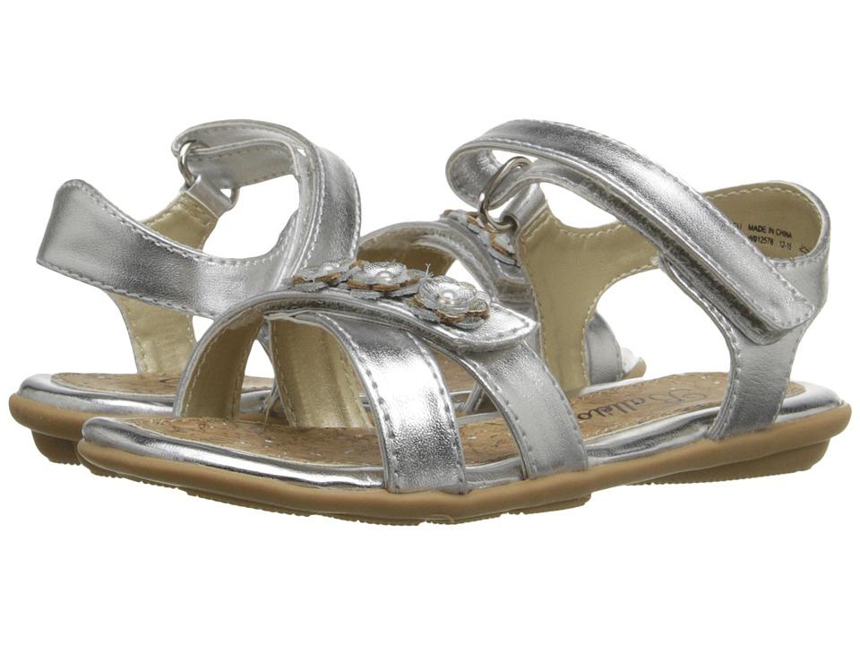 Jumping Jacks Kids - Balleto - Wink (Toddler/Little Kid/Big Kid) (Silver Metallic) Girls Shoes