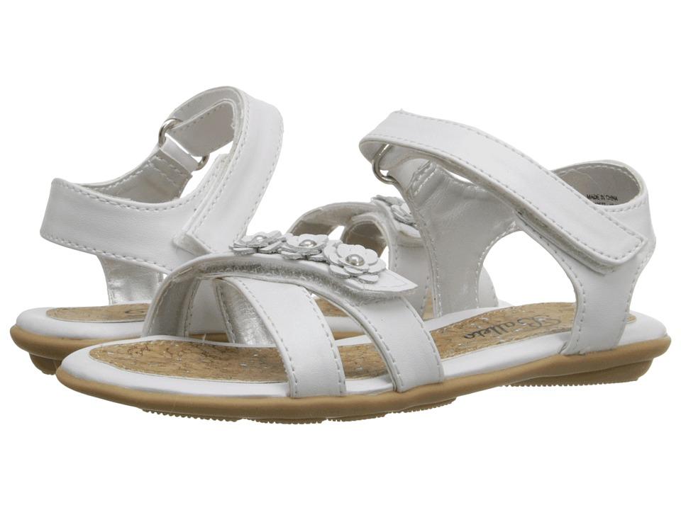 Jumping Jacks Kids - Balleto - Wink (Toddler/Little Kid/Big Kid) (White) Girls Shoes
