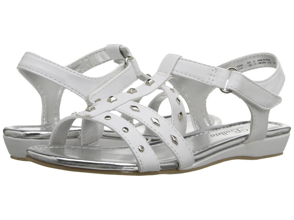 Jumping Jacks Kids - Balleto - Tosha (Little Kid/Big Kid) (White) Girls Shoes