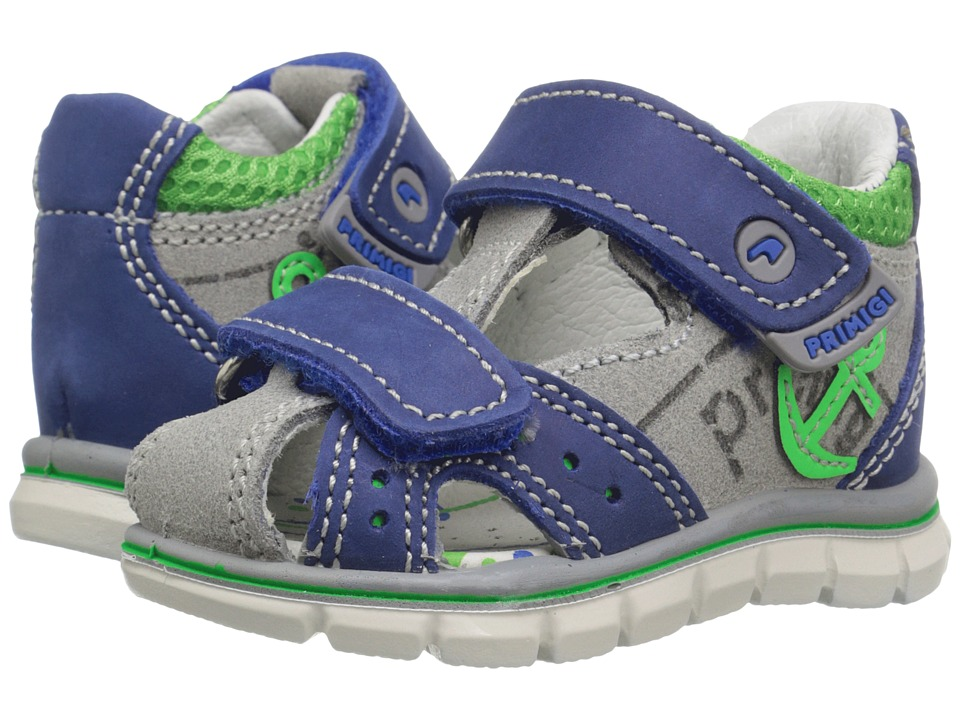 Primigi Kids - Adelmo Bluet (Infant/Toddler) (Blue) Boys Shoes