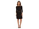 Calvin Klein Calvin Klein - Sweater Dress Faux Leather Piping