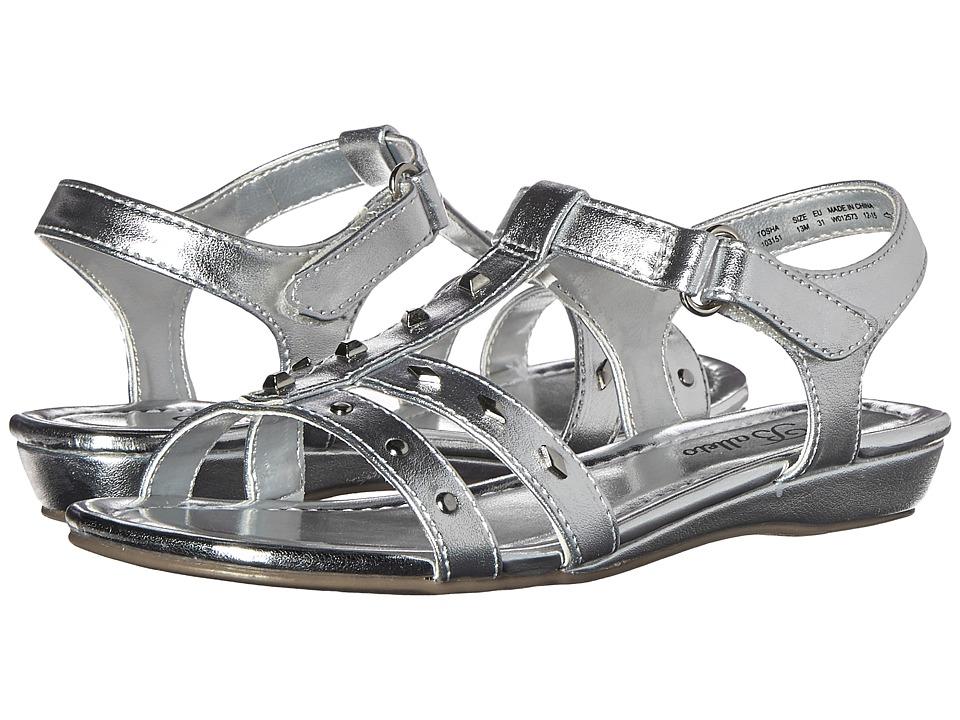 Jumping Jacks Kids - Balleto - Tosha (Little Kid/Big Kid) (Silver Metallic) Girls Shoes