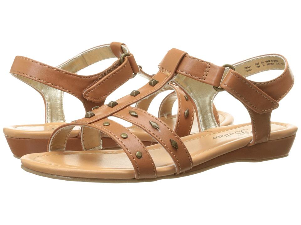 Jumping Jacks Kids - Balleto - Tosha (Little Kid/Big Kid) (Saddle Tan) Girls Shoes