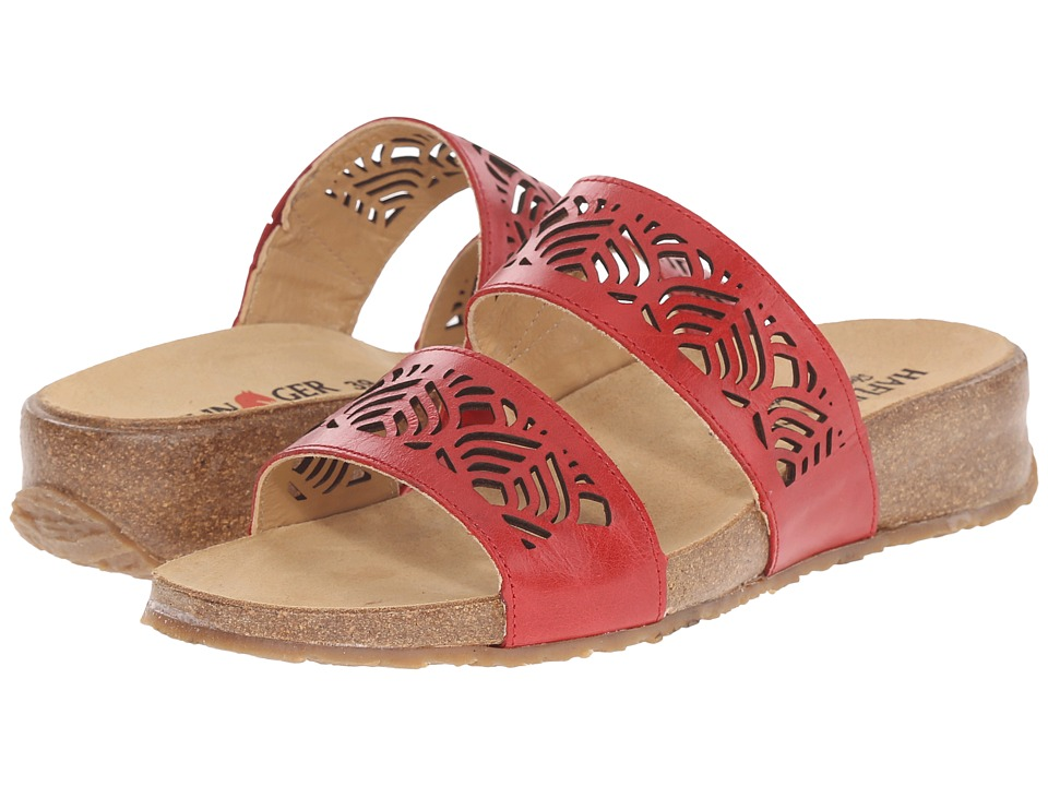 Haflinger - Grace (Cherry) Women's Sandals