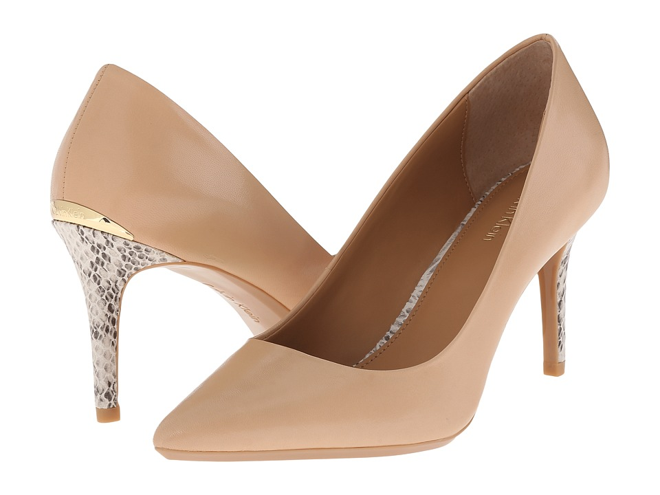 Calvin Klein - Gayle (Sandstorm Leather) High Heels