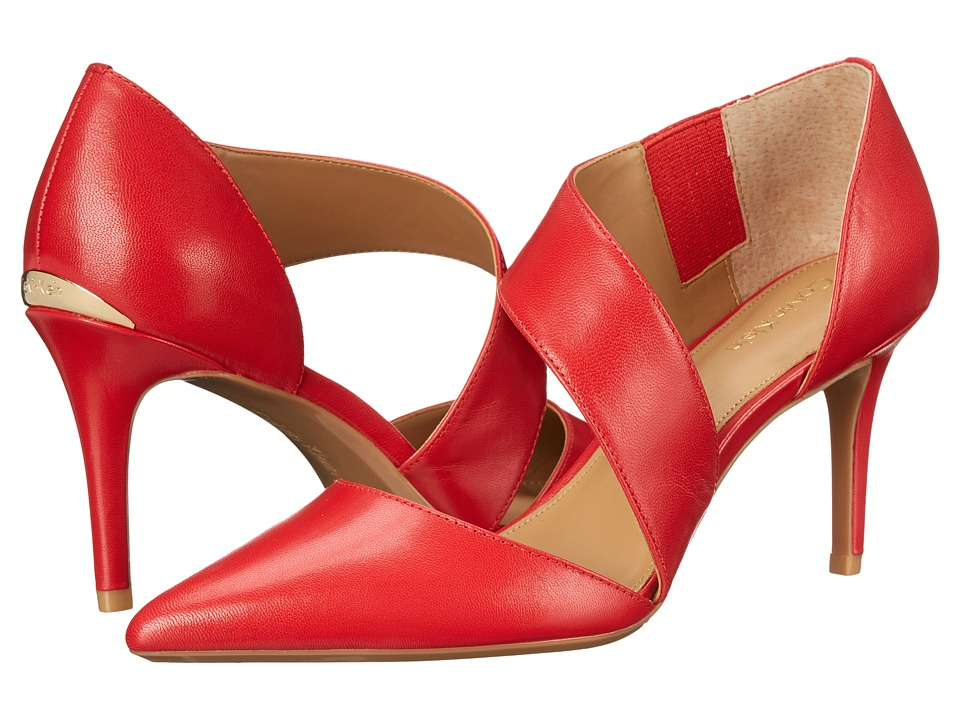 Calvin Klein - Gella (Lipstick Red Kid Skin) High Heels