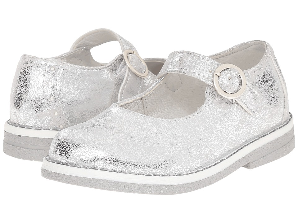 Primigi Kids - Alina Argento (Toddler) (Silver) Girls Shoes