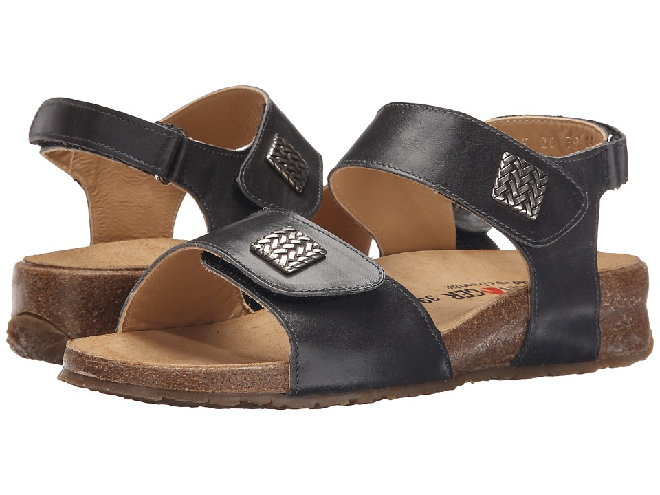 Haflinger - Bella (Graphite) Women's Sandals