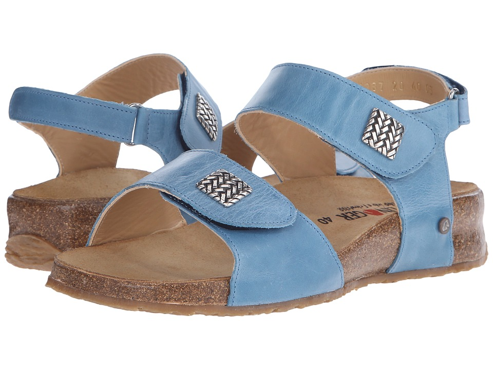 Haflinger - Bella (Capri Blue) Women's Sandals