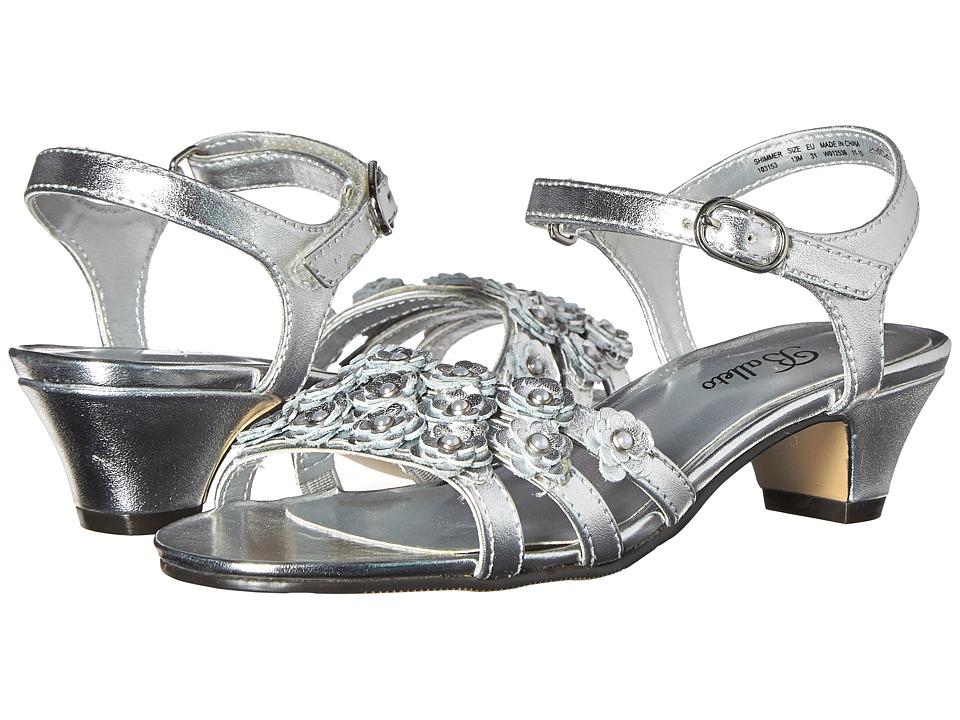 Jumping Jacks Kids - Balleto - Shimmer (Little Kid/Big Kid) (Silver Metallic) Girls Shoes