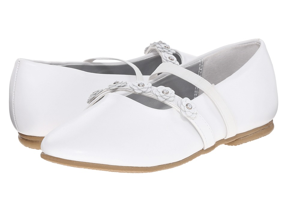 Jumping Jacks Kids - Balleto - Charm (Toddler/Little Kid/Big Kid) (White) Girls Shoes