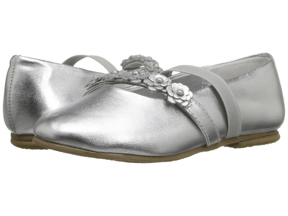 Jumping Jacks Kids - Balleto - Charm (Toddler/Little Kid/Big Kid) (Silver Metallic) Girls Shoes