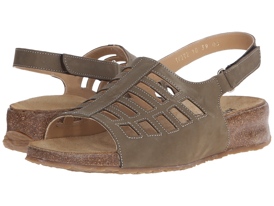 Haflinger - Morgan (Khaki) Women's Sandals