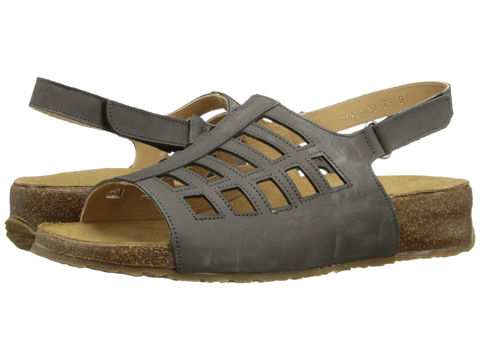 Haflinger - Morgan (Slate) Women's Sandals