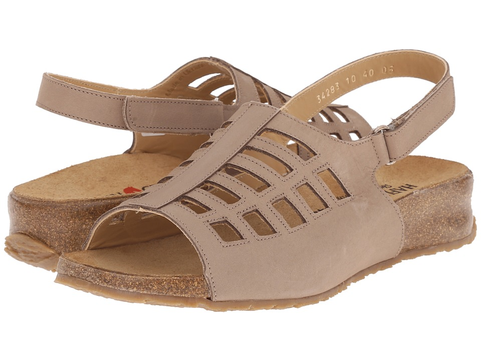 Haflinger - Morgan (Stone) Women's Sandals